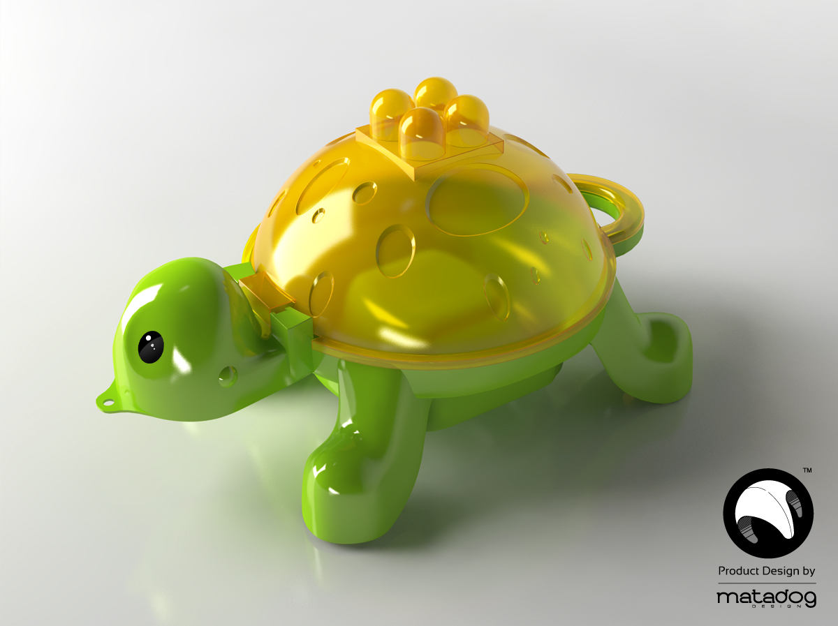 Brickes_turtle_with_wheels_Product_design